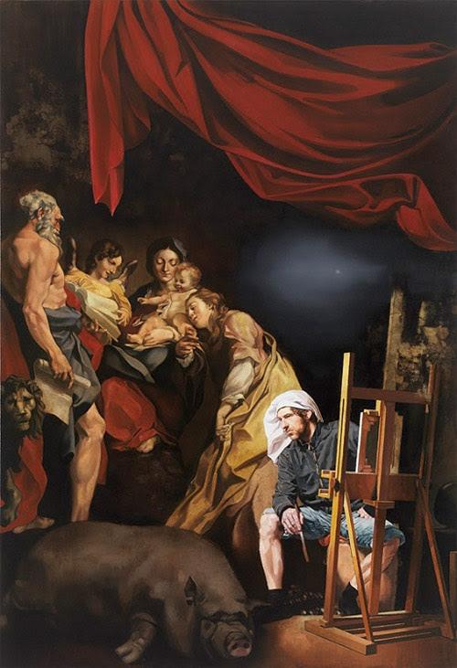 sebastian schrader artist painter painting