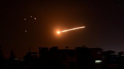 В Сирии сообщили об отражении атаки в небе Алеппо