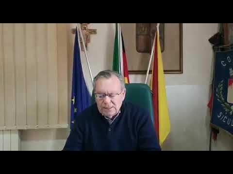 Il Sindaco Leonardo Lauricella. Video messaggio del 30 marzo 2020