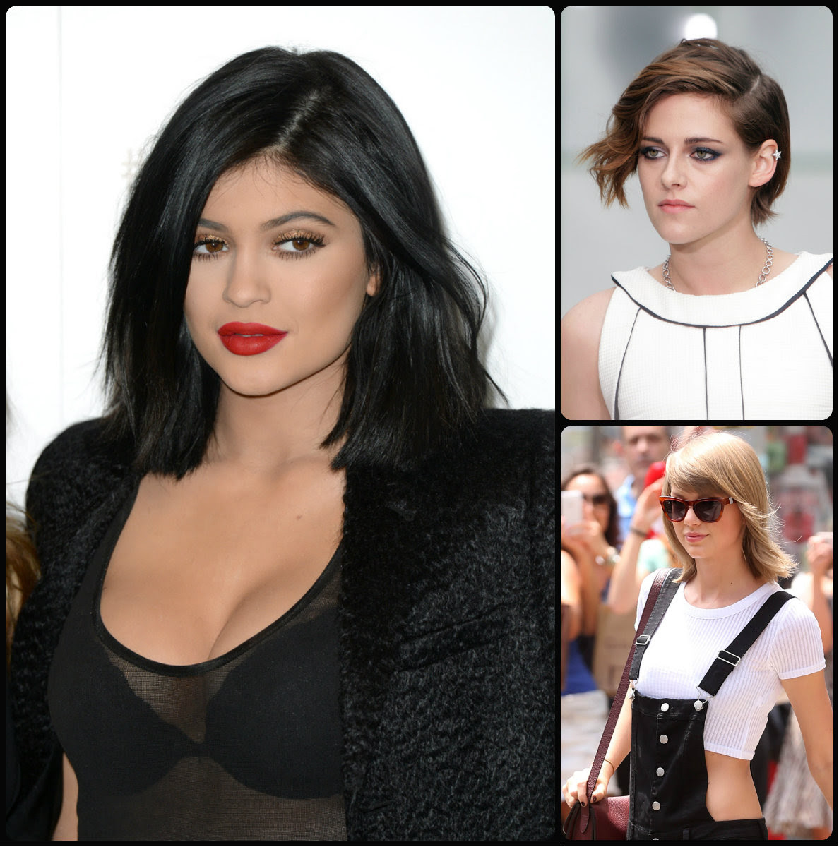 stars prefer short hairstyles for summer/fall 2015 ~ long
