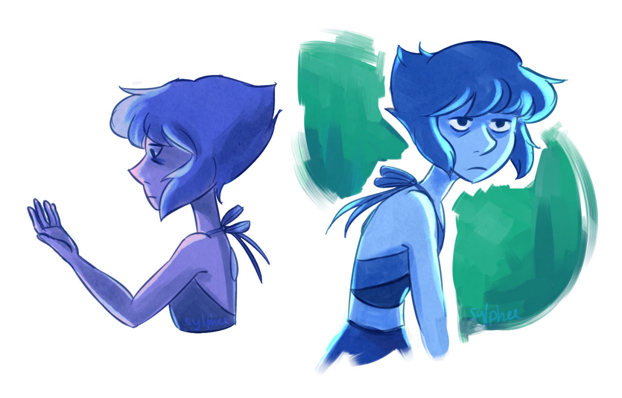 i've been really irritated lately so here's angry and tired lapis