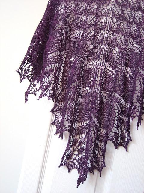 Sara's Aeolian shawl