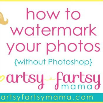 How To Watermark Photos without Photoshop