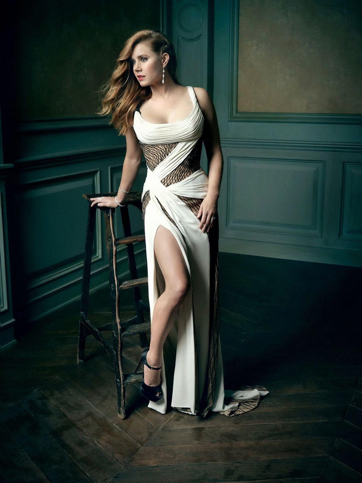 AMY ADAMS by Mark Seliger 2016 Vanity Fair Oscar Party Portrait
