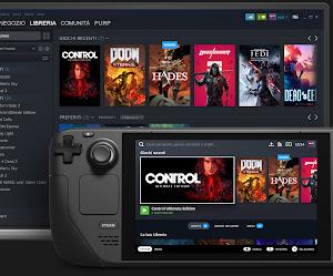 Valve presenta Steam Deck, la sua console portatile con Linux