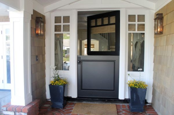 Versatile, multi-purpose Dutch doors, great for separating and