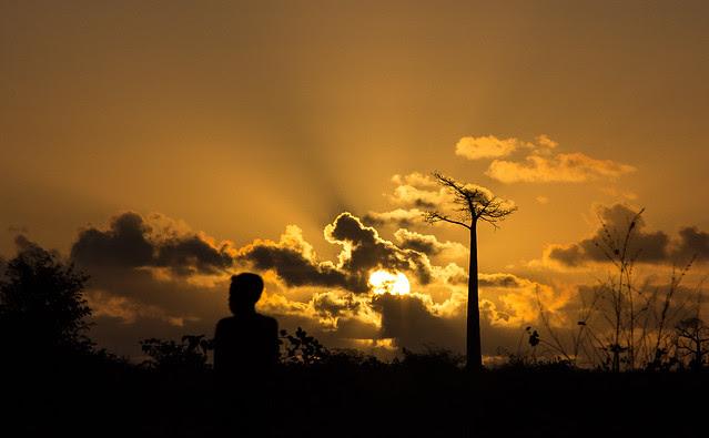 Sunset in Mada, par Franck Vervial