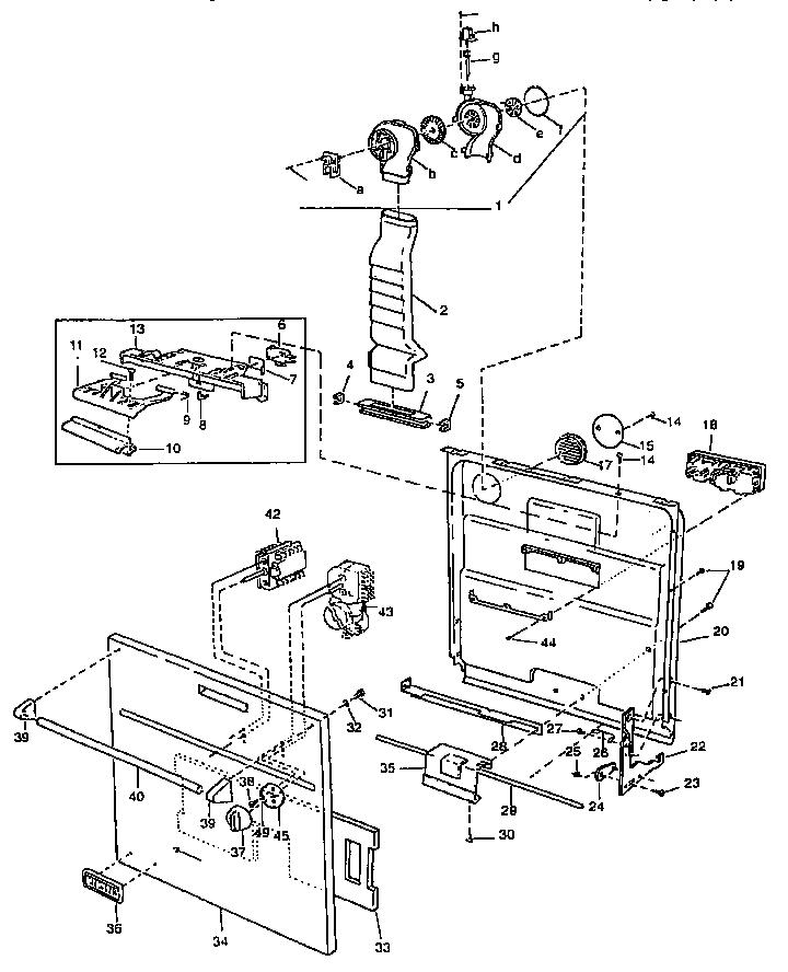 Wiring Diagram  27 Viking Dishwasher Parts Diagram