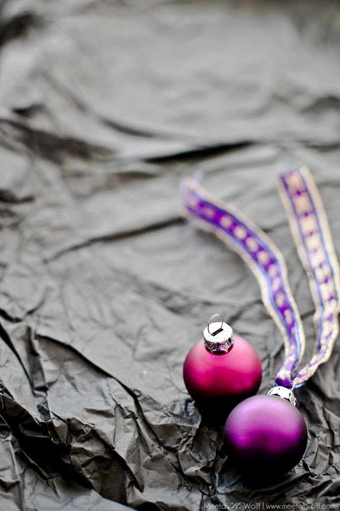 Purple XMAS by Meeta K. Wolff