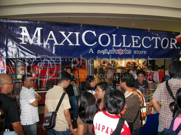 3rd Tagcom Maxicollector Booth