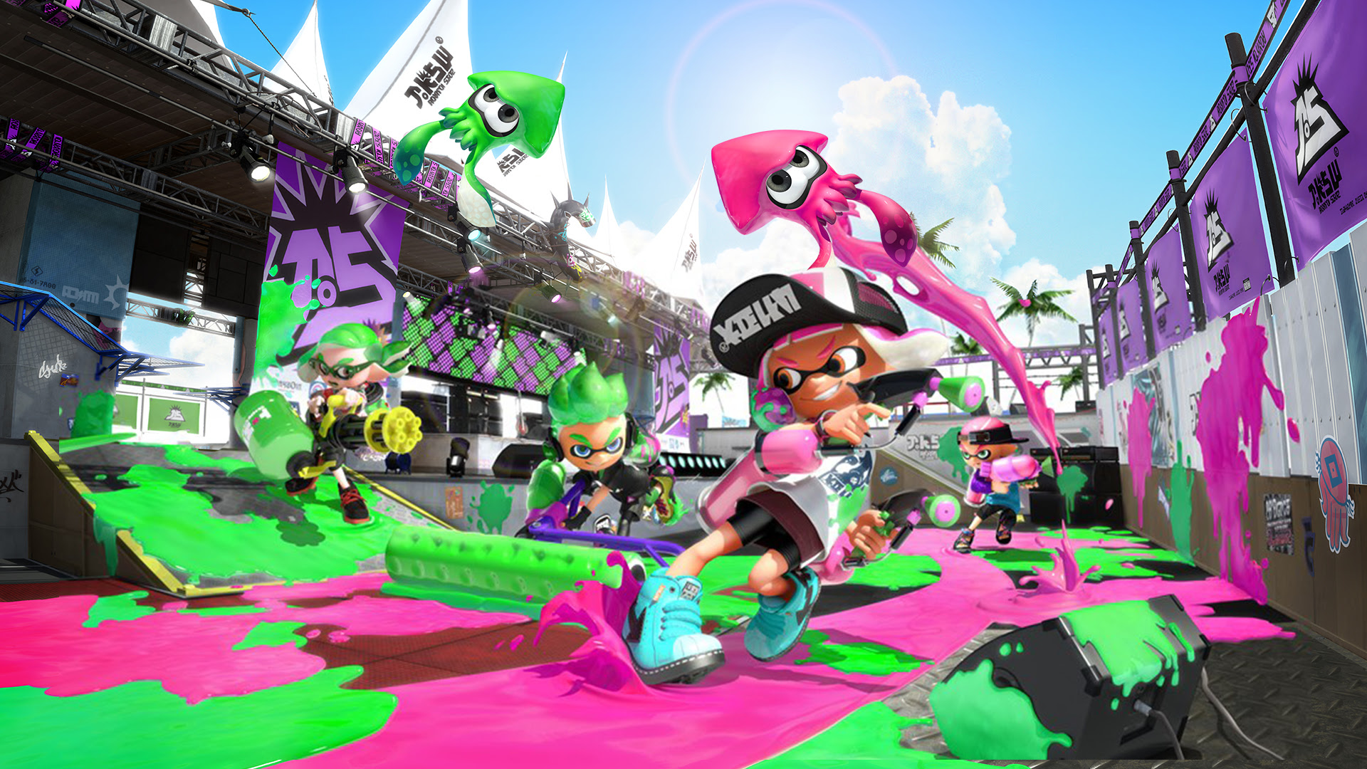 Splatoon 2 is getting a new ranked mode centered around teams screenshot
