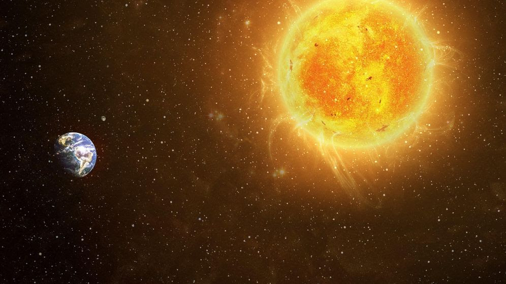 Resultado de imagen de EL SOL Y LA TIERRA