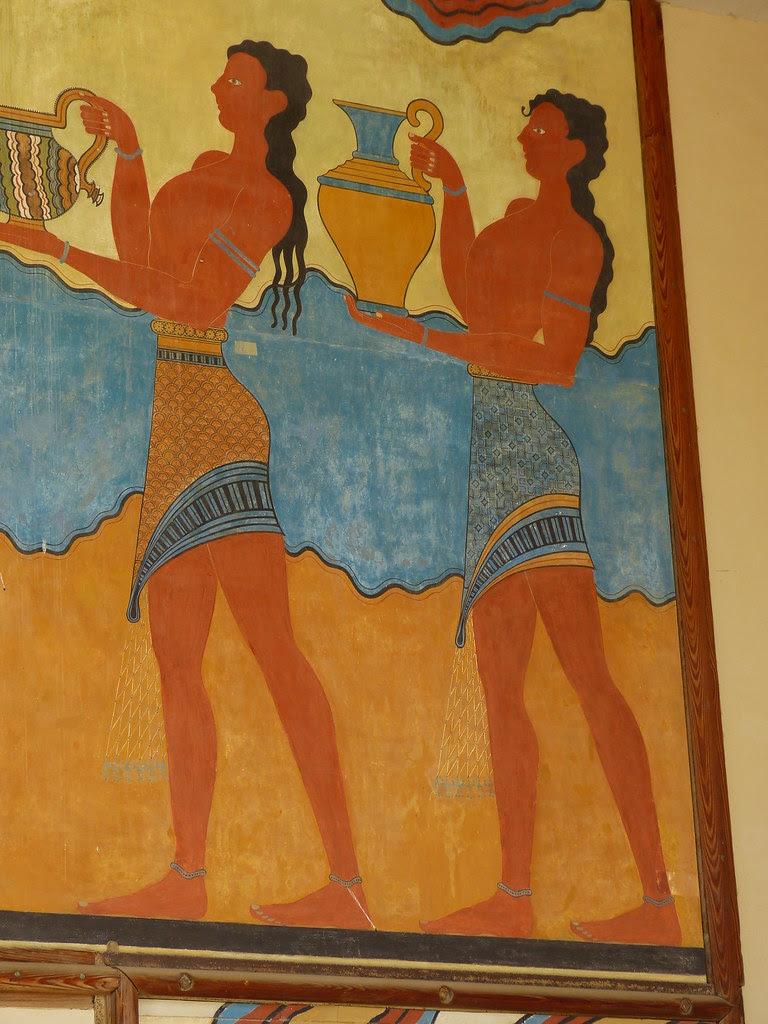 Cup-bearer, Knossos