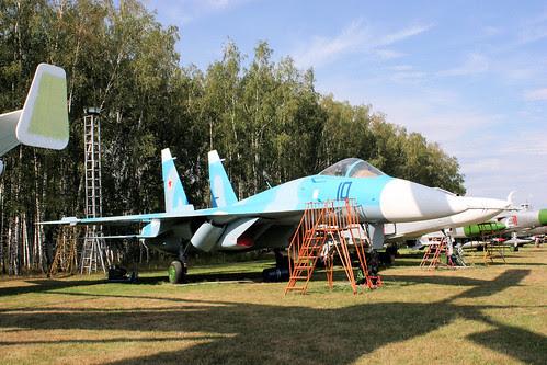 Sukhoi T-10 10 blue