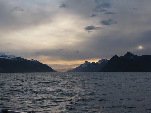 Brazo Noroeste sunrise