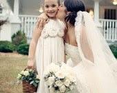 Flower girl dress ..Cedar... Natural Cotton Flower Girl Dress 2T-5