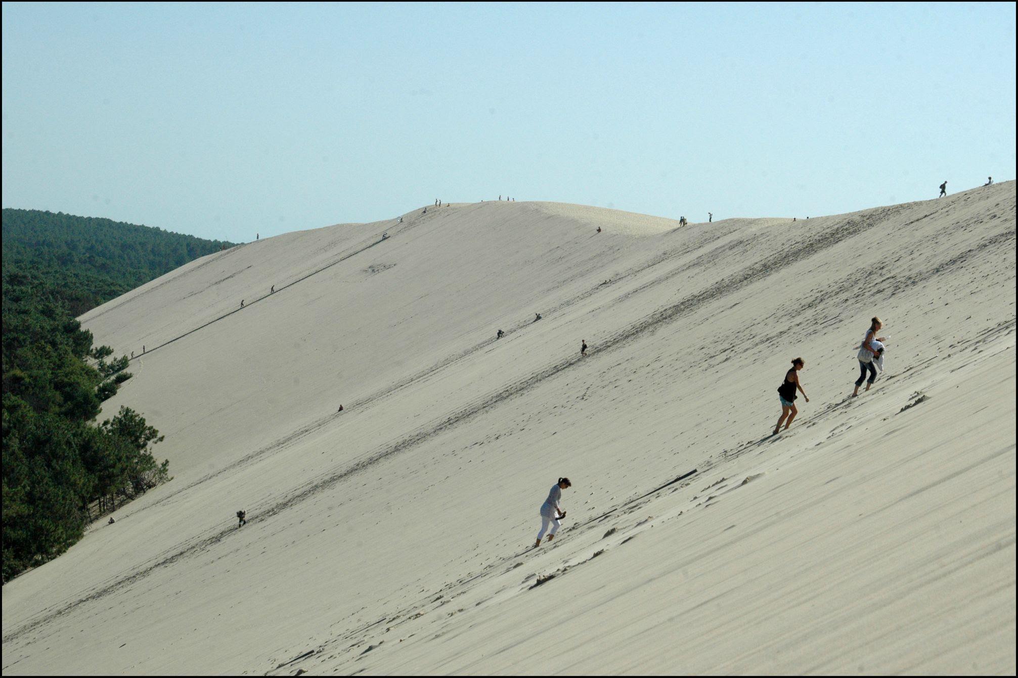 AvUB8 Dune de Pyla   A new Sahara desert being born   in France! [30 pics]