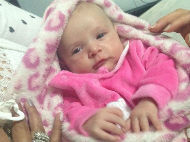 Tayla Vitória da Silva nasceu no dia 2 de novembro de 2014 e é saudável (Foto: Arquivo pessoal)