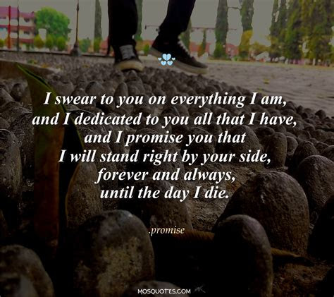 I Will Stand By Your Side Quotes