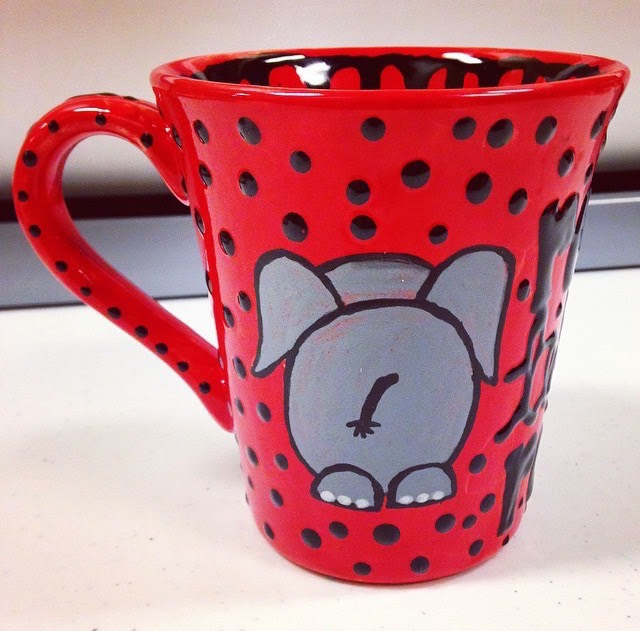 5 Beautiful Paint Your Own Pottery Mug Ideas