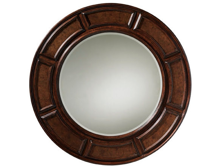 Tommy Bahama Home Accessories Helena Round Mirror 552 201 Tin Roof