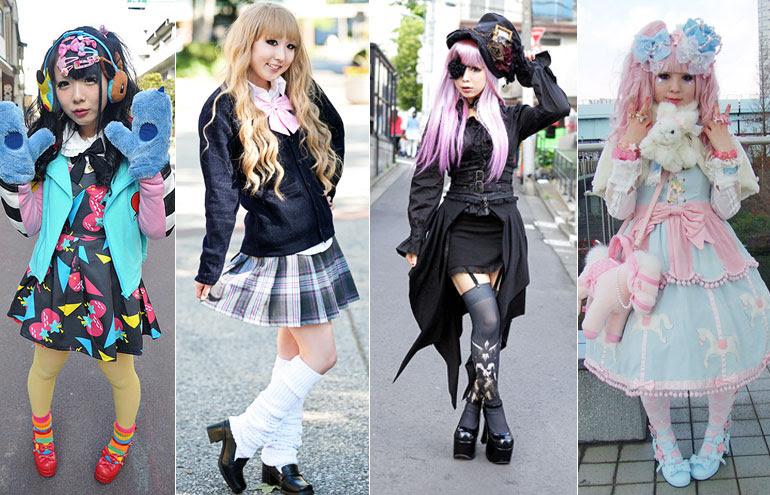 Resultado de imagem para moda no japao