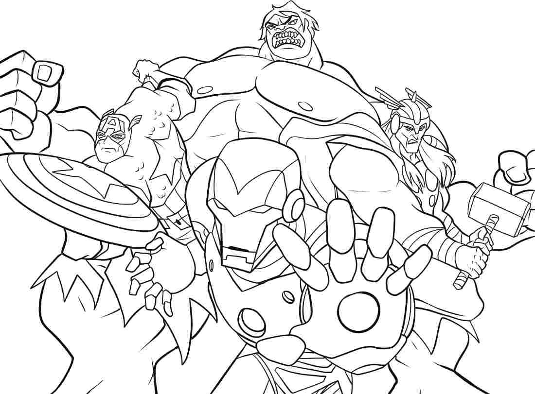 77 Top Avengers Characters Coloring Pages , Free HD Download