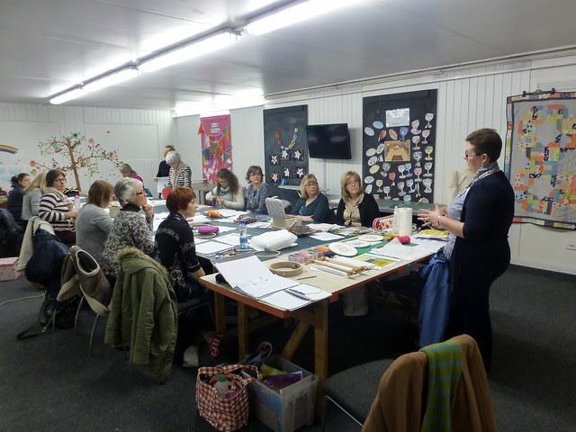 Embroidery Workshop Feb14