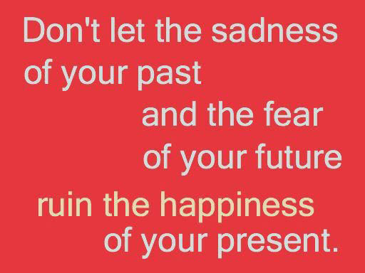 Dont Let Your Past Steal Your Future Future Quote