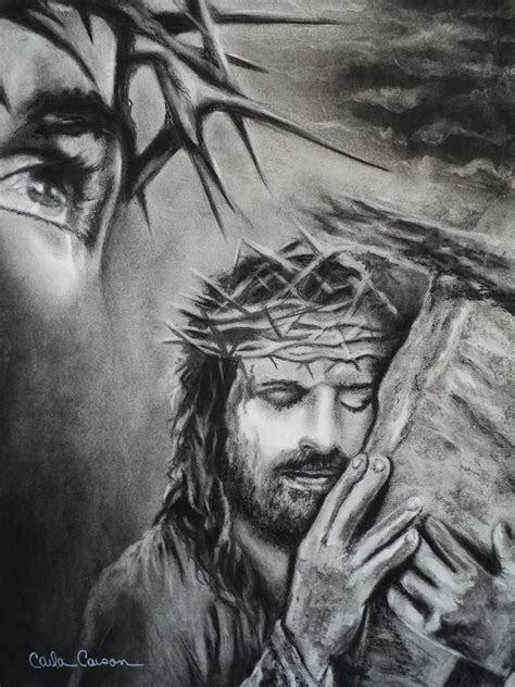 christ  carla carson jesus drawings christian