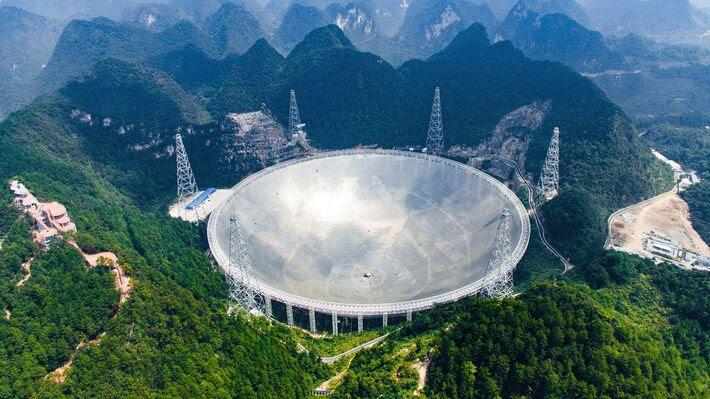 Εγκαινιάστηκε το μεγαλύτερο ραδιοτηλεσκόπιο του κόσμου
