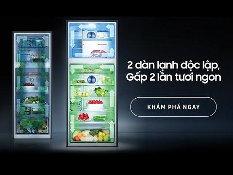 Tủ lạnh Samsung Twin Cooling Plus - Công nghệ 2 Dàn Lạnh Độc Lập Hoạt Động Như Thế Nào?