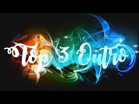 3d outro template download