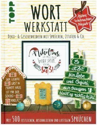 Wortwerkstatt Advent Weihnachten Neujahr Deko Geschenkideen