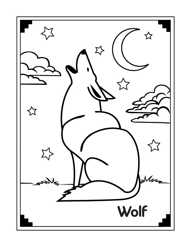 coloring pages wolf   celebrity image gallery