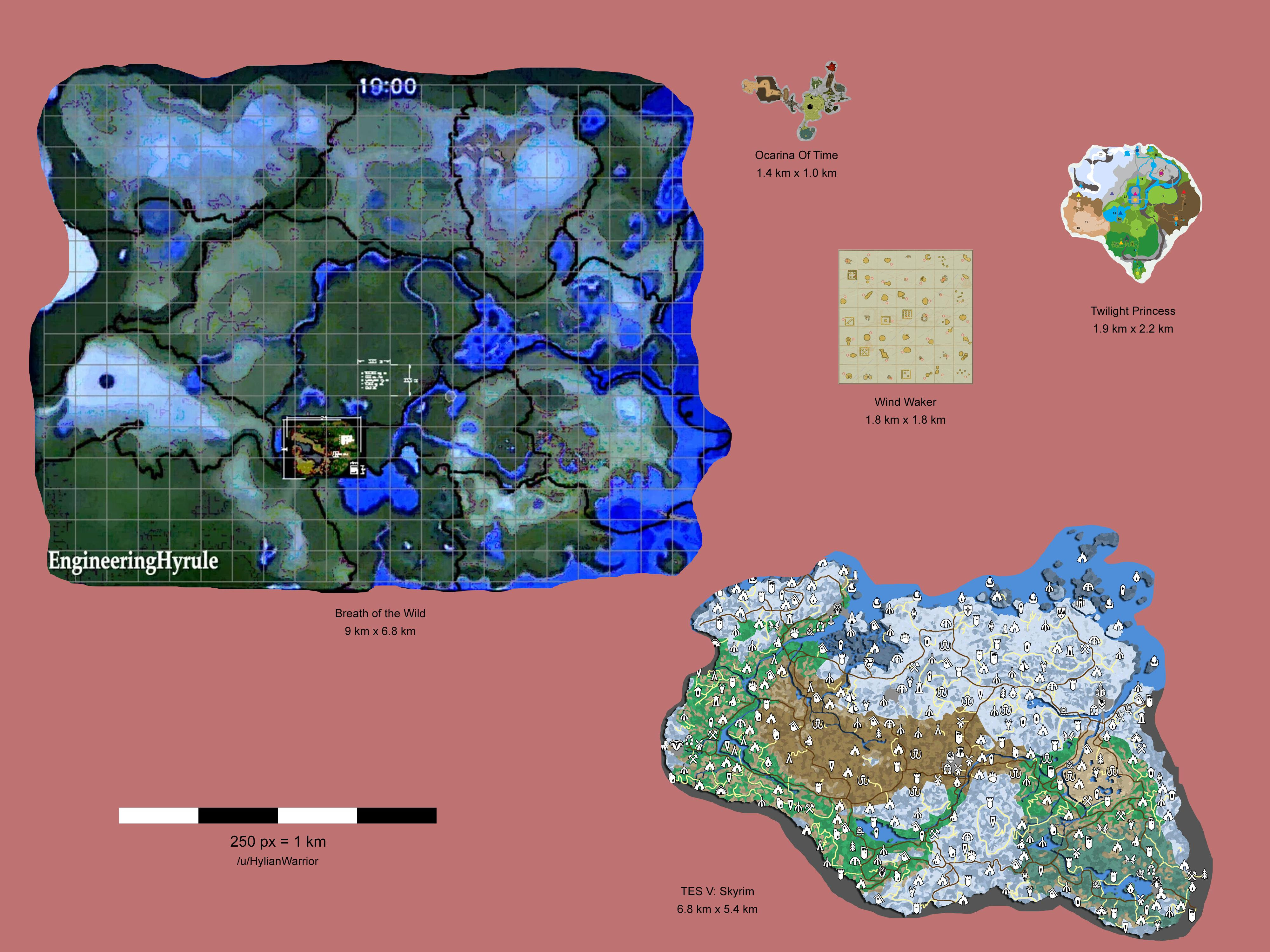 The Size Of Botw Breathofthewild