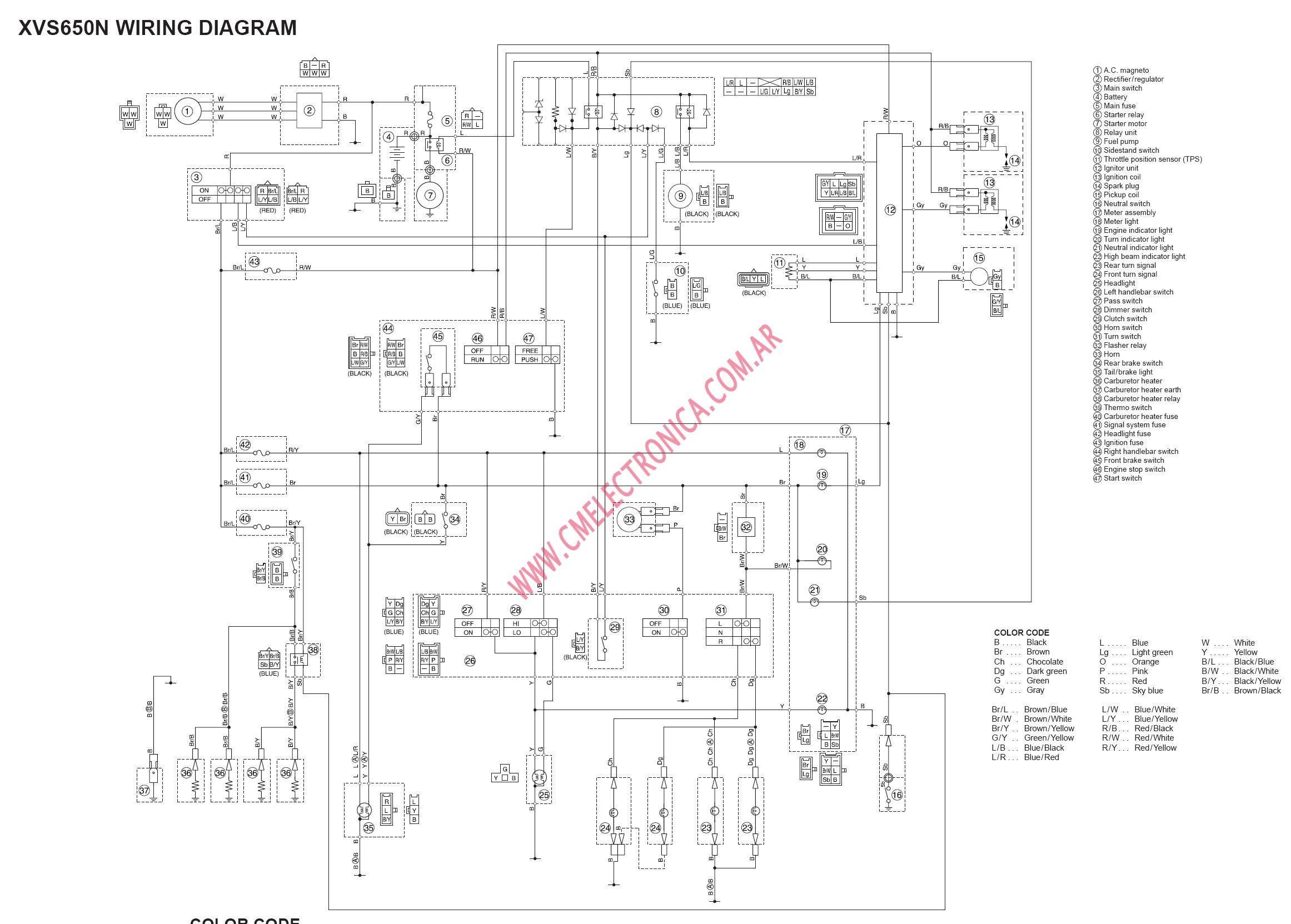 Diagram Custom 2004 Yamaha V Star Wiring Diagrams Full Version Hd Quality Wiring Diagrams Blogxreba Centromacrobioticomilanese It