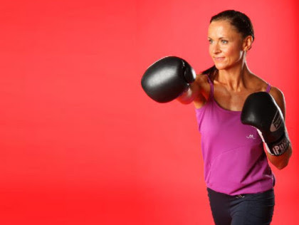 1. Upper body cardio: boxing