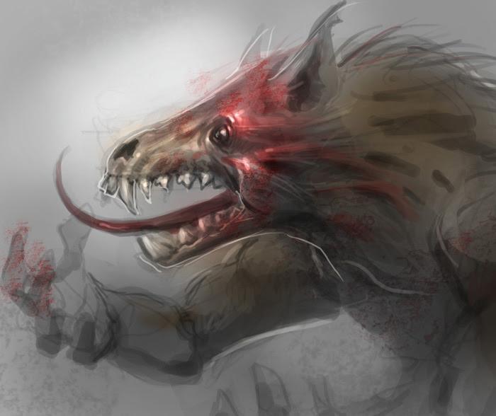 werewolf drawing tutorial