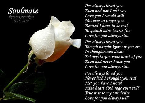 Soulmate   a poem I wrote.   poems   Pinterest   Poem and