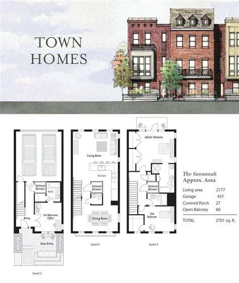 townhouseduplex plans images  pinterest