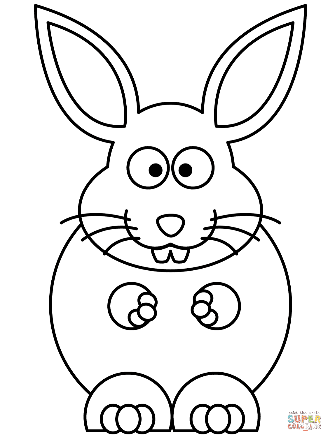 Cute Bunny Rabbit Drawing at GetDrawings | Free download