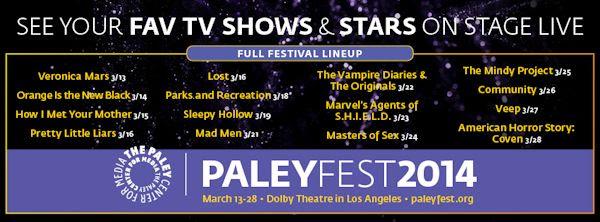 PaleyFest 2014
