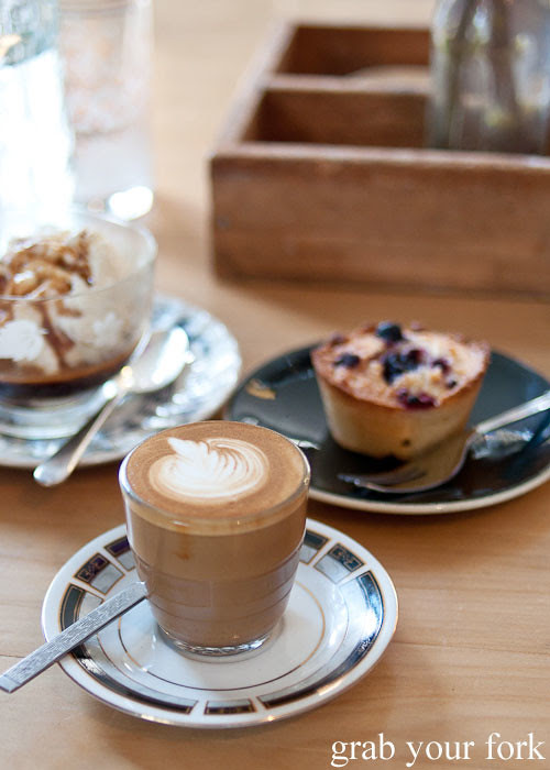 piccolo five senses coffee at Something for Jess cafe in Chippendale