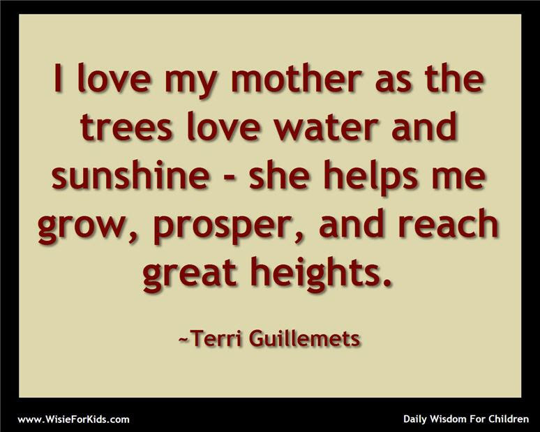 Love Quotes Mother And Child Quotes