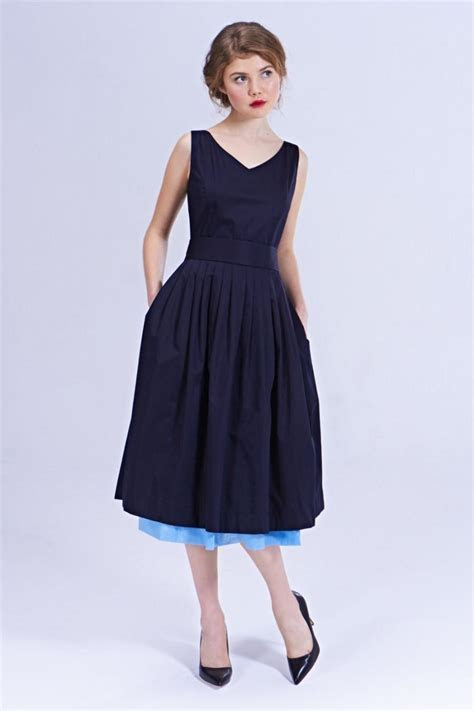 Navy Bridesmaid Dress Navy V Neck Dress Bridesmaid Dresses