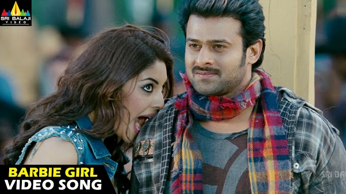 Barbie Girl Song Lyrics in Telugu - Mirchi | Prabhas, Anushka, Richa