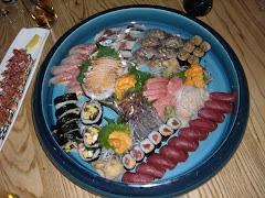 Bandeja de sushi (Nobu, NY)