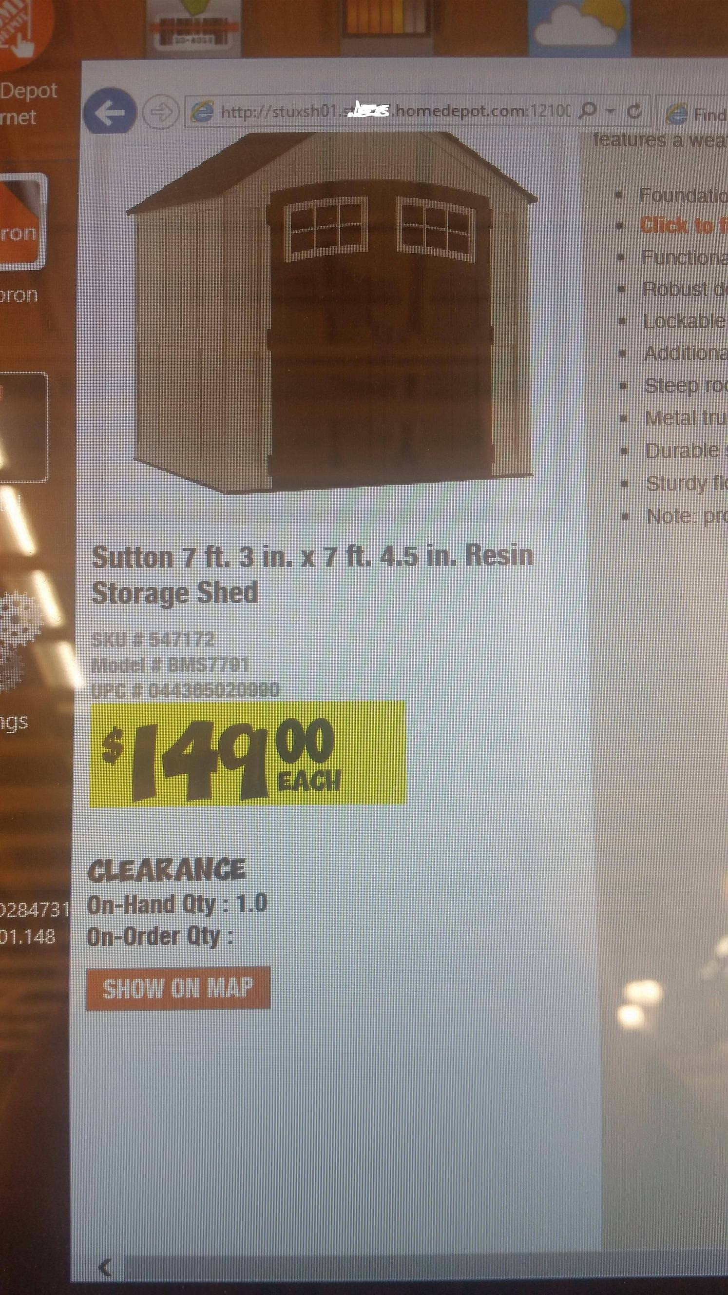 2018 Home Depot Clearance Thead The Garage Journal Board
