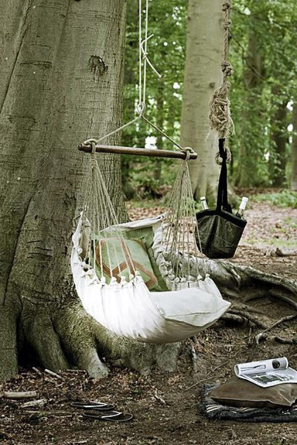 DIY Tree Swing Ideas For More Family Time (27)